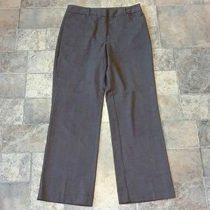 Harve Benard brown wide leg dress pants